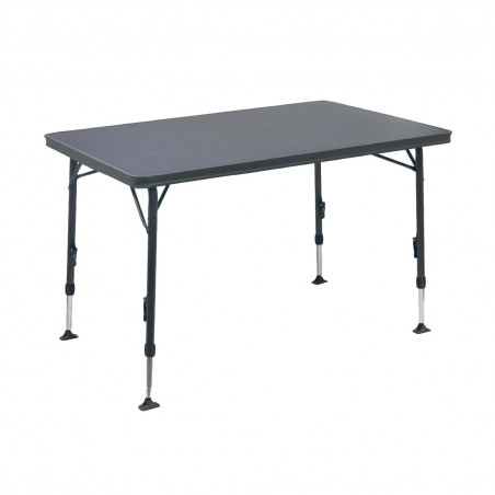 Mesa plegable Crespo RECTANGULAR DOBLE gris