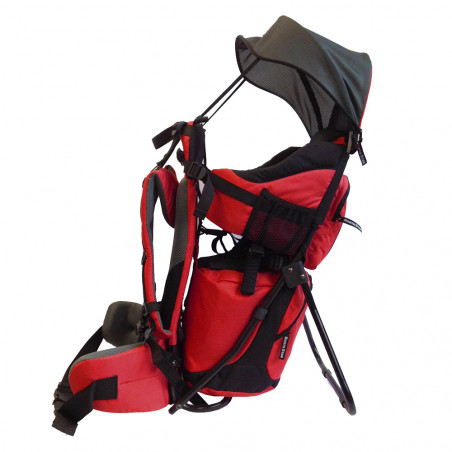 Mochila North Star PORTABEBES PRO - rojo cereza