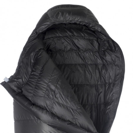 Saco de dormir Aura BAZA+ XL BLACK - negro