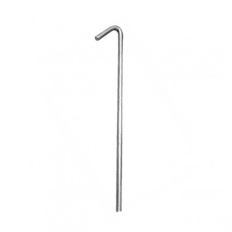 Pack de 10 Piquetas High Peak STEEL PIN PEG 18 CM