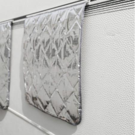 Guía aluminio para oscurecedor ventana de caravana Liberty TOLDILLA ISOTÉRMICA - hecho a medida