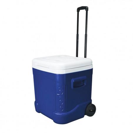Igloo Coolers ICE CUBE 60 ROLLER azul - Nevera rígida con ruedas