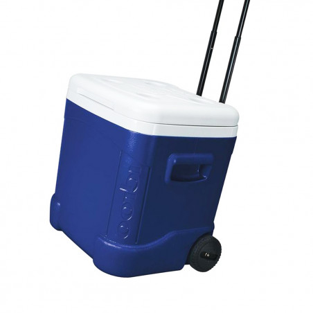 Nevera rígida con ruedas Igloo Coolers ICE CUBE 60 ROLLER - Azul
