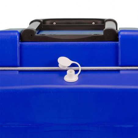 Nevera rígida con ruedas Igloo Coolers ISLAND BREEZE 60 ROLLER - Azul