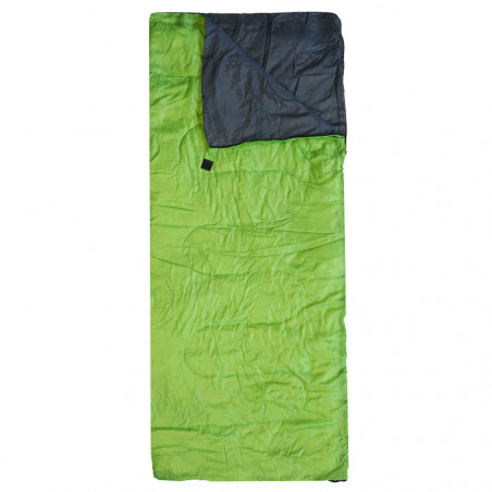 Saco de dormir rectangular Campingsport LIGHT CAMP - verde