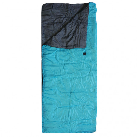 Saco de dormir rectangular Campingsport LIGHT CAMP - azul