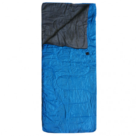 Saco de dormir rectangular Campingsport LIGHT CAMP - azul royal