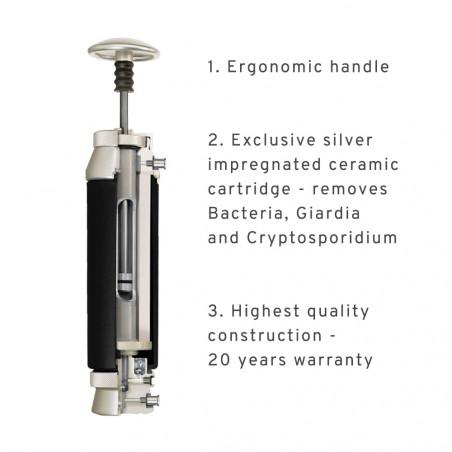 Filtro purificador de bolsillo Katadyn POCKET FILTER