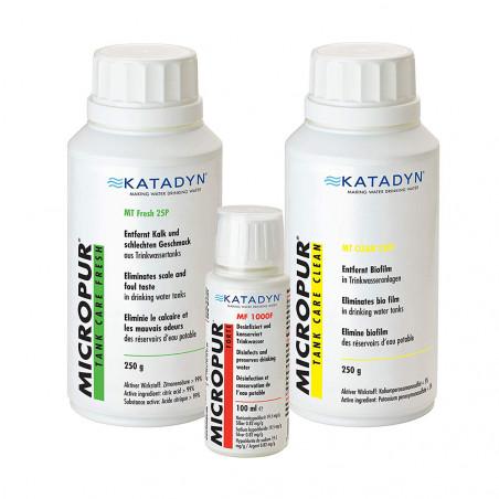 Set de limpieza depósitos de agua potable Katadyn MICROPUR MICROBOX TANK CARE LINE