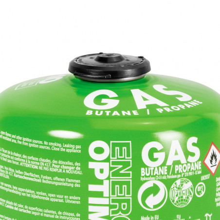 Pack 2 cartuchos de gas Optimus GAS 440G BUTANE/PROPANE con válvula