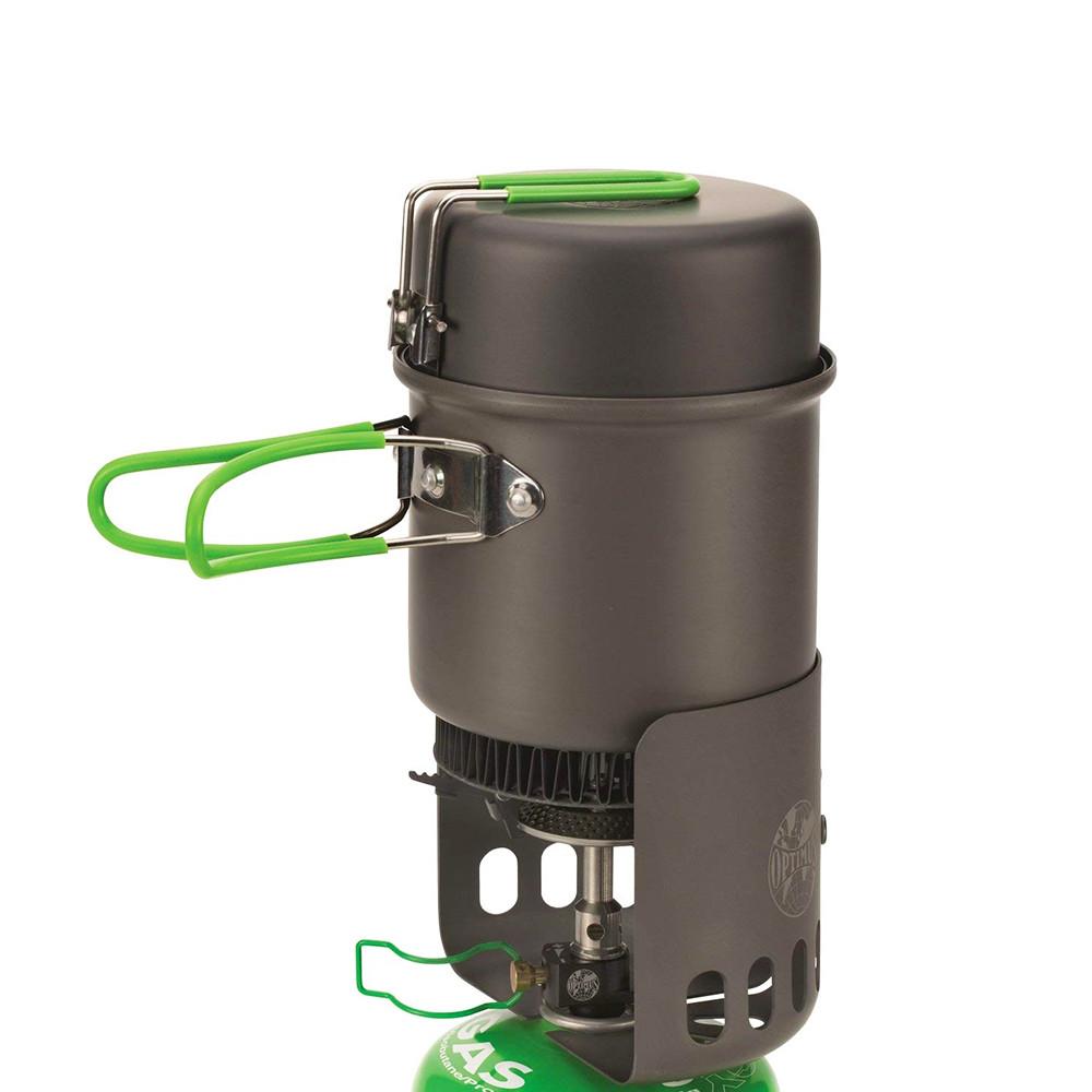 Hornillo + Sistema de cocción Optimus ELECTRA FE COOK SYSTEM
