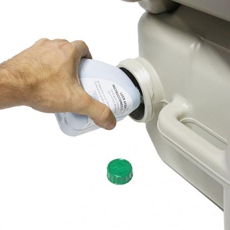 Pack 4 Líquidos para inodoro químico LÍQUDOS WC 500 ml + 500 ml