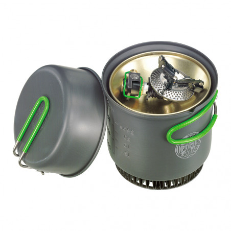 Hornillo + Sistema de cocción Optimus CRUX WEEKEND HE COOK SYSTEM