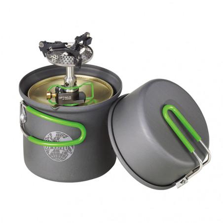 Hornillo + Sistema de cocción Optimus CRUX LITE SOLO COOK SYSTEM