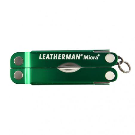 Multiherramienta navaja multiusos Leatherman MICRA - Verde