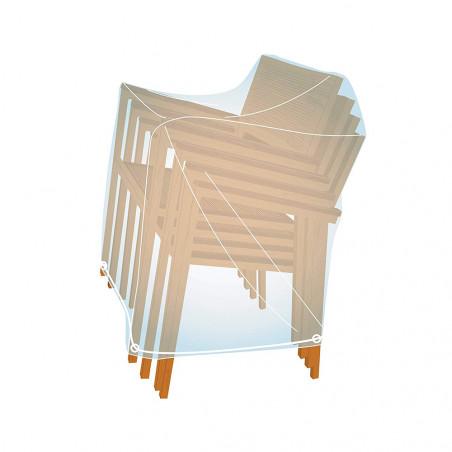 Funda cubre sillas apiladas x 4 Campingaz