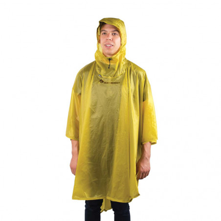 Sea to Summit Ultra-Sil Nano Poncho lima - Poncho impermeable