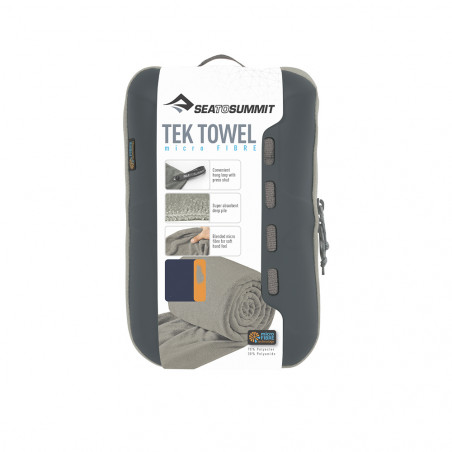 Toalla microfibra L Sea to Summit TEK TOWEL 60 X 120 CM -azul pacifico