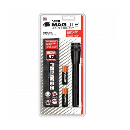 Linterna de bolsillo Maglite® MINI LED 2 AA - negra