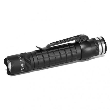 Linterna Maglite® MAG-TAC POLICIAL RECARGABLE con corona – negra