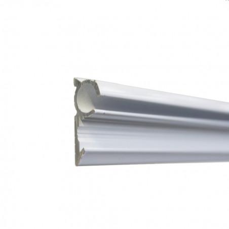 Guía de aluminio ø 7 mm para bordón de toldilla o avance caravana - por metros