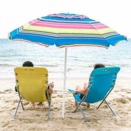 Silla plegable de playa OZtrail SEASPRAY - amarilla