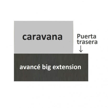 Avancé para caravana Intexca BIG EXTENSION - fondo 270 cm