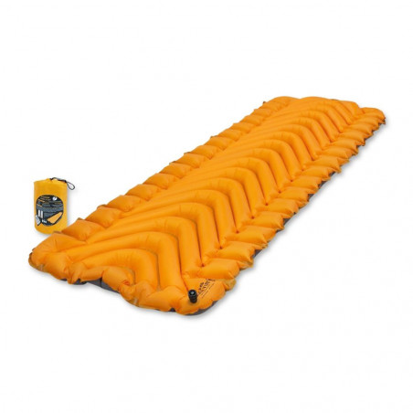 Esterilla autohinchable Klymit INSULATED STATIC V LITE- naranja