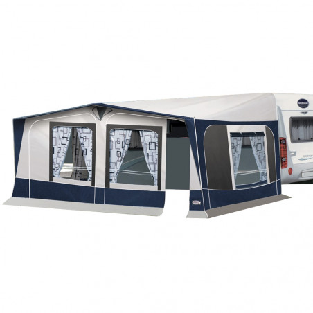 Avancé caravana pvc Leinwand ICARO con tapas - fondo 250 cm