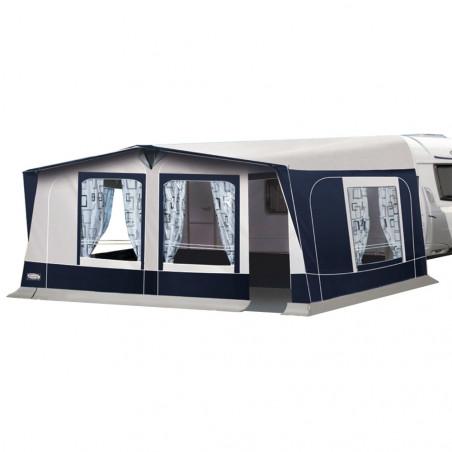 Avancé caravana pvc Leinwand TARENTO con tapas - fondo 250 cm