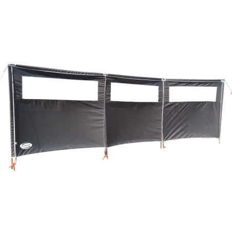 Paraviento 3 paneles Leinwand 480 con ventanas ampliable