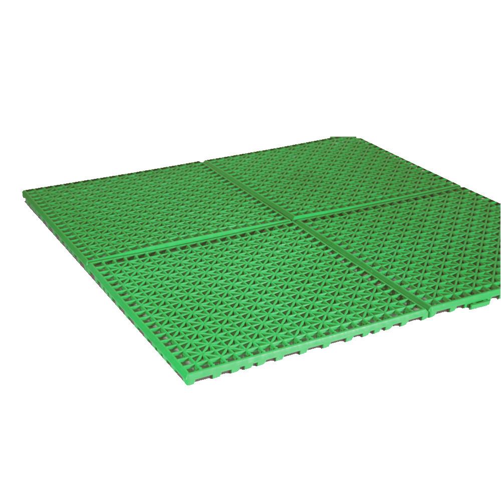 Suelo para avancé y cocina Leinwand Pack 4 LOSETA 30 x 30 cm - verde