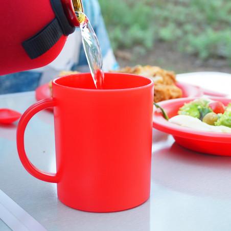 Taza de camping para niños Camping Sport TAZA COLONIAS – roja