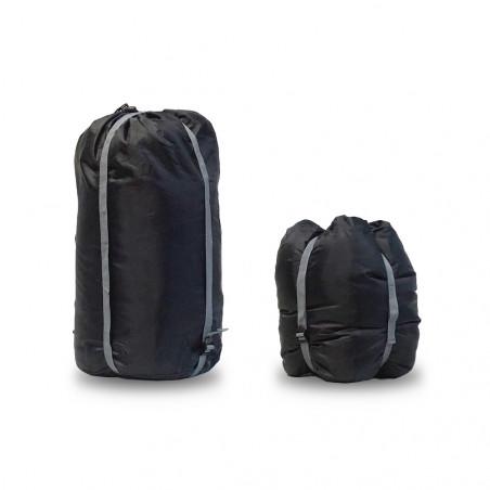 Bolsa de compresión saco Camping Sport COMPRESSOR XL - negra