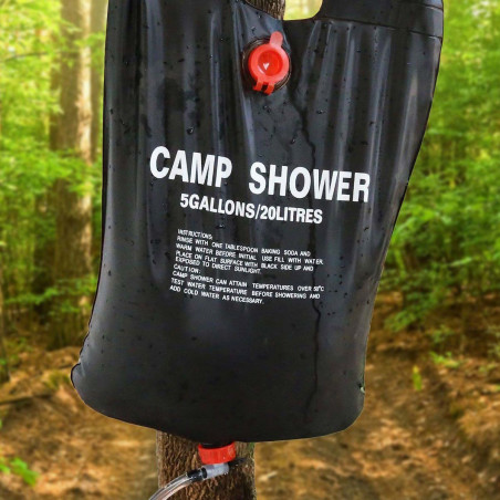 ducha solar camping portatil camp shower hosa