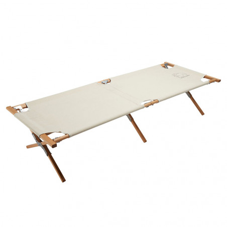 Nordisk Rold Wooden Bed beige - Cama de glamping