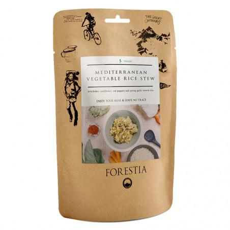 Pouch 350 g Forestia - Verduras mediterráneas con arroz