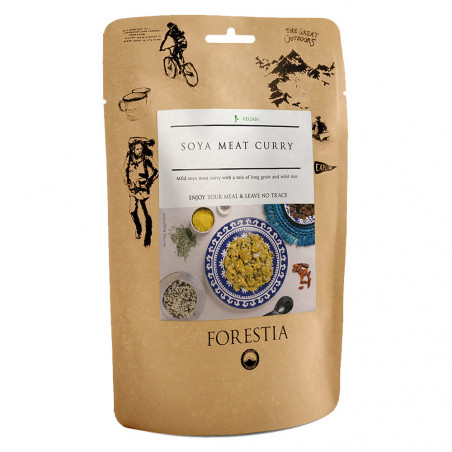 Pouch 350 g Forestia - Tofu de soja al curry