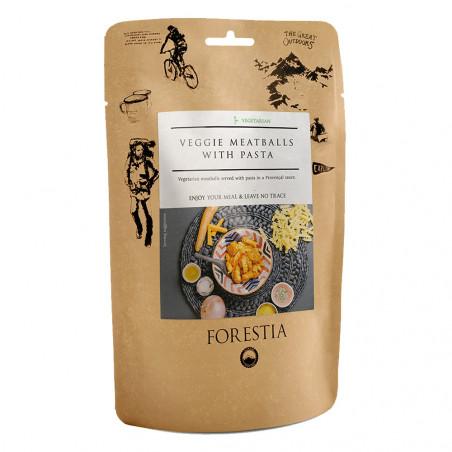 Pouch 350 g Forestia - Albóndigas vegetales con pasta