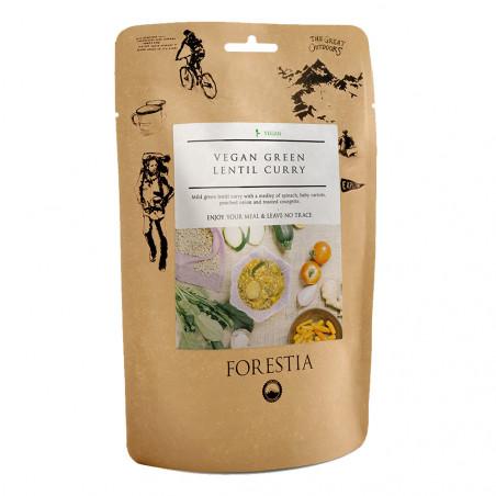 Pouch 350 g Forestia - Lentejas veganas al curry