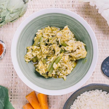 Ración autocalentable 350 g Forestia - Verduras mediterráneas con arroz