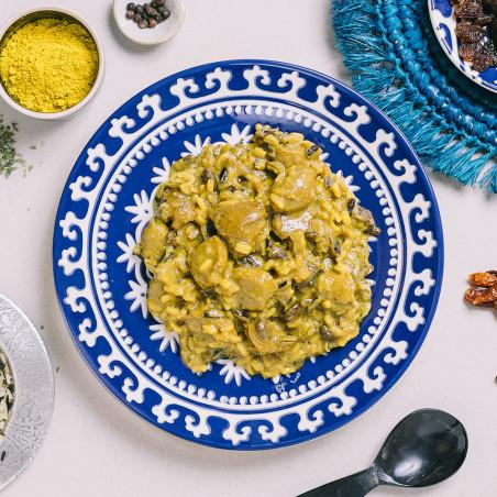 Ración autocalentable 350 g Forestia - Tofu de soja al curry