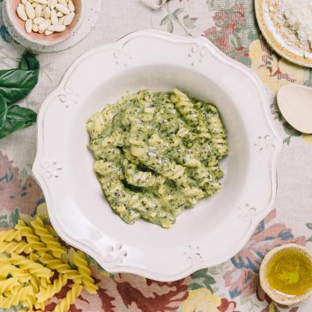 Ración autocalentable 350 g Forestia - Pasta al pesto de albahaca