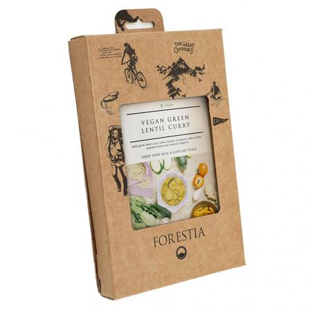 Ración autocalentable 350 g Forestia - Lentejas veganas al curry