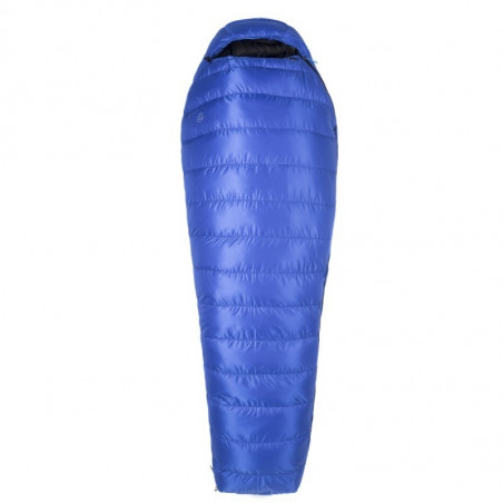 Saco de dormir Aura BAZA+ -13º XL DAZZLING BLUE - azul