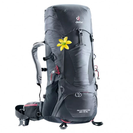 Deuter Aircontact Lite 35 + 10 SL negra - Mochila de trekking