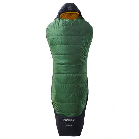 Saco de dormir Nordisk GORMSSON +10º CURVE L – verde