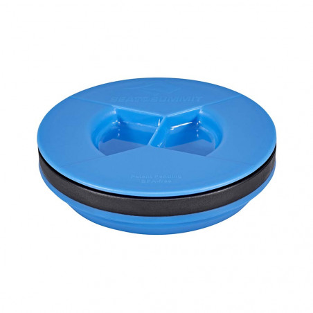 Vaso plegable Sea to Summit X-SEAL & GO MEDIUM 415 ml - azul