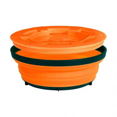 Vaso plegable Sea to Summit X-SEAL & GO LARGE 600 ml - naranja