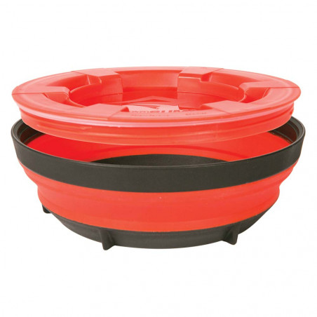 Olla plegable Sea to Summit X-SEAL & GO XLARGE 850 ml - rojo